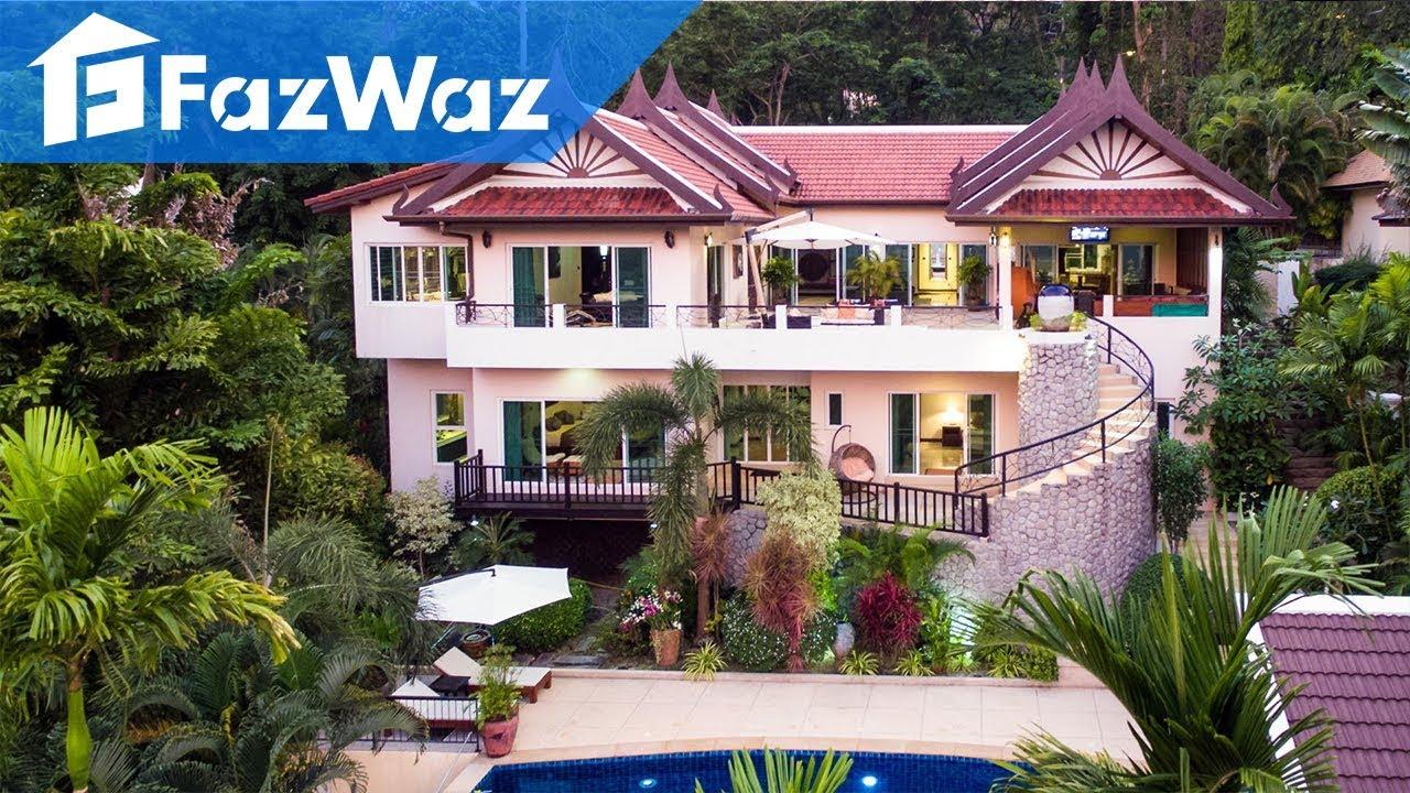 luxus házak Thaiföldön